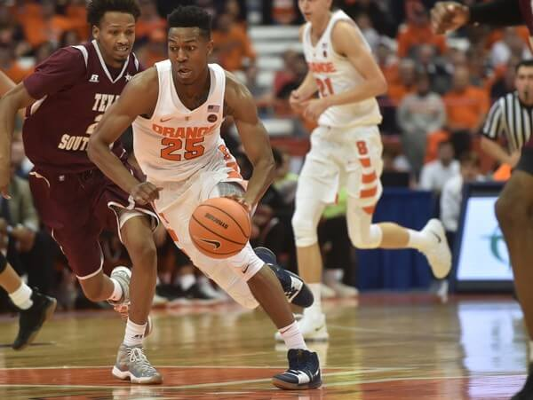 Virginia vs Syracuse en vivo
