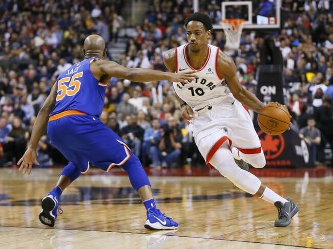 New York Knicks vs Toronto Raptors En Vivo